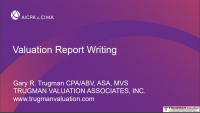 Valuation Report Writing Workshop icon