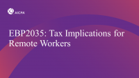 Tax Implications for Remote Workers