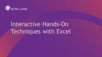 Interactive Hands-On Techniques with Excel icon