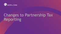 Changes to Partnership Tax Reporting icon