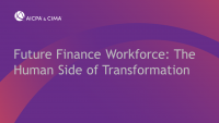 Future Finance Workforce: The Human Side of Transformation
