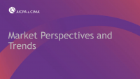 Capital Market Perspectives and Trends icon