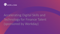 Accelerating Digital Skills and Technology for Finance Talent (sponsored by Workday)