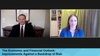 The Economic and Financial Outlook: Improvements Against a Backdrop of Risk