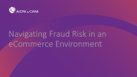 Navigating Fraud Risk in an eCommerce Environment