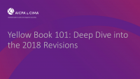 Yellow Book 101: Deep Dive into the 2018 Revisions icon