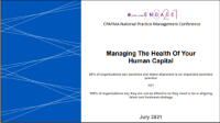 FMA2106. Managing the Health of Your Human Capital