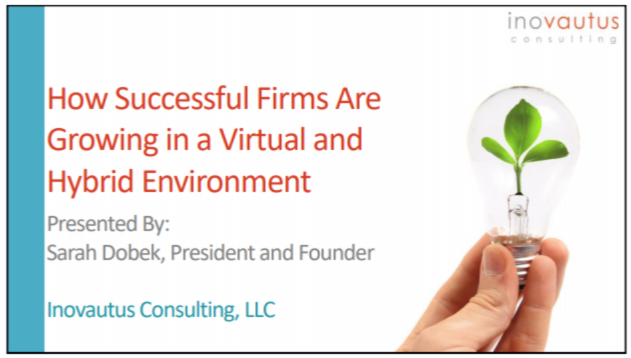ENG2132. How Successful Firms are Growing in a Virtual and Hybrid Environment