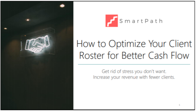 ENG2135. How to Optimize Your Client Roster for Better Cash Flow