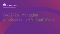Managing Employees in A Virtual World icon