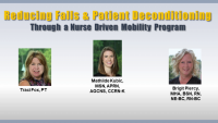 Reducing Falls and Patient Deconditioning through a Nurse-Driven Mobility Program