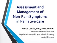 Assessment and Management of Common Non-Pain Symptoms in Palliative Care icon