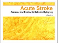 Acute Stroke: Assessing and Treating to Optimize Outcomes icon
