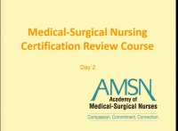 Medical-Surgical Nursing Certification Review Course Day 2 icon