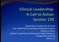 Clinical Leadership: A Call to Action icon