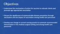 Vaccination Leadership for Med-Surg Nurses: The Essentials of What You Need to Know icon