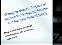 Changing Nurses Practice to Reduce Work-Related Fatigue and Increase Patient Safety icon