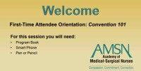 First-Time Attendee Orientation icon