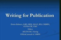 Writing for Publication icon