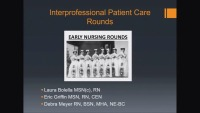 Interprofessional Patient Care Rounds icon