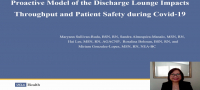 A Proactive Model of a Discharge Lounge Impacts Throughput During COVID-19 icon