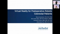 Virtual Reality for Postoperative Robotic Colorectal Patients icon