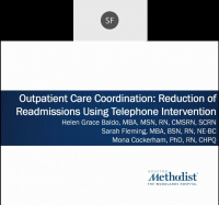 Outpatient Care Coordination: Reduction of Readmissions Using Telephone Intervention icon