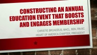 Constructing an Annual Event that Boosts and Engages Membership