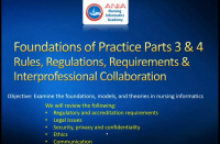 CRC Module 4 (Part 2): Foundations of Practice: Rules, Regulations, and Requirements & Interprofessional Collaboration