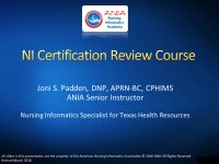 CRC Module 6: Data Management and Health Care Technology