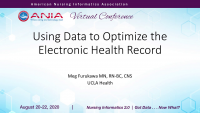 Using Data to Optimize the Electronic Health Record