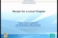 The Recipe for a Local Chapter
