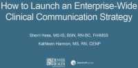 How to Launch an Enterprise-Wide Clinical Communication Strategy icon