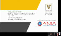 Innovation in Crisis: Getting Creative with Implementation Support