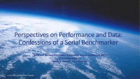Perspectives on Performance and Data: Confessions of a Serial Benchmarker