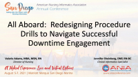 All Aboard: Redesigning Procedure Drills to Navigate Successful Downtime Engagement
