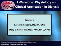 L-Carnitine: Physiology and Clinical Application in Dialysis icon