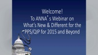 Update: What's New and Different for the PPS/QIP for 2015 and Beyond? icon
