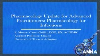 Pharmacology Update for Advanced Practitioners: Pharmacology for Infections icon