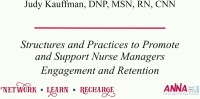 Structures and Practices to Promote and Support Nurse Managers: Engagement and Retention of the Nurse Manager icon