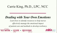 Dealing with Your Own Emotions