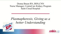 Update in Acute Care Nephrology: Plasmaphoresis: Giving Us a Better Understanding icon
