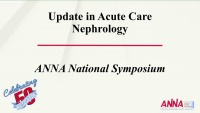 Update in Acute Care Nephrology: Functional and Cellular Biomarkers to Assess AKI icon