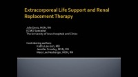 Update in Acute Care Nephrology: Cardiac Assist Devices and Renal Replacement Therapy icon