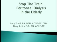 Stop the Train: The Older Adult Using Peritoneal Dialysis
