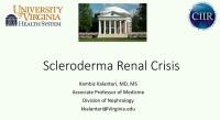 Kidneys Inside and Out: Scleroderma icon