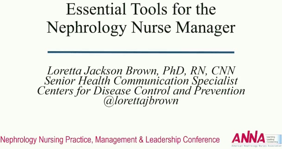 Essential Tools for the Nurse Manager