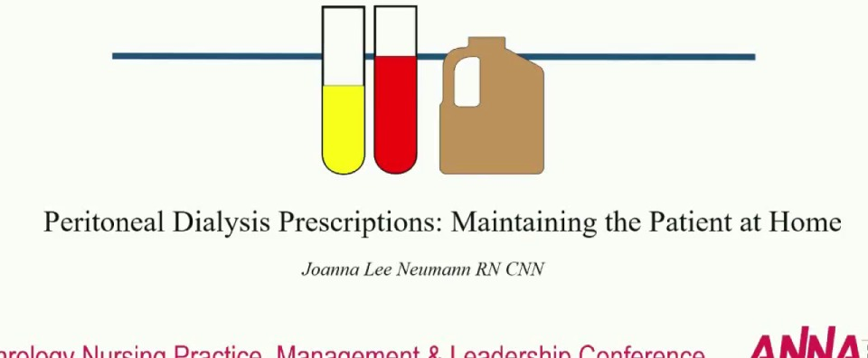 Peritoneal Dialysis Prescriptions: Maintaining the Patient at Home