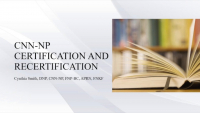 CNN-NP Certification and Recertification icon
