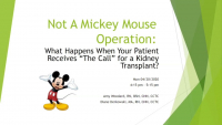 """What Happens When Your Patient Receives """"The Call"""" for a Kidney Transplant? icon"""